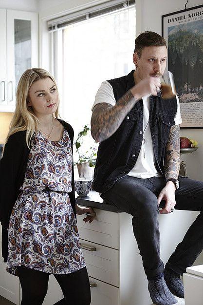 Petter Vesslan Grahn & Lisa Sindsjö, Grünerløkka Oslo