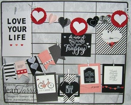 Stampin' Up! Hello Life My Way created by Jeannine Tarrio