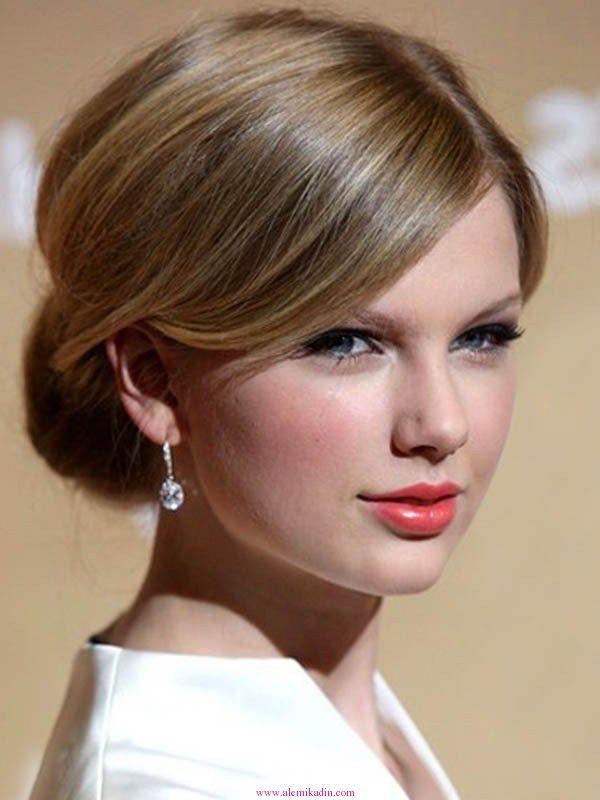 Fransız Büküm Topuz Taylor Swift