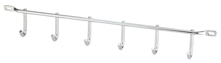 IT Kitchens Chrome Effect Kitchen Utensil Rack (H)50mm (L)400mm | Departments | DIY at B&Q