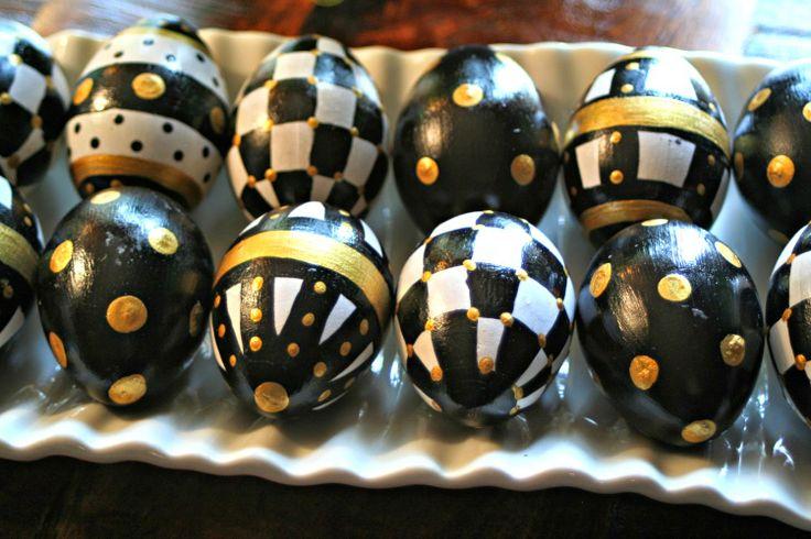 MarvinsDaughters: MacKenzie - Childs Inspired Easter Eggs