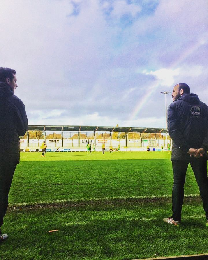 """What's at the end of the rainbow Vinesy?"" ""Clean sheets Tony clean sheets"""