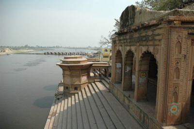 Kesi Ghat and the Yamuna River, Vrindavan