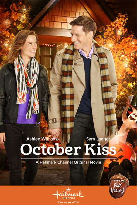 "Its a Wonderful Movie - Your Guide to Family Movies on TV: Hallmark Movie ""October Kiss"" starring Ashley Williams"