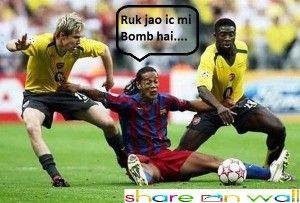 Football funny Moments!