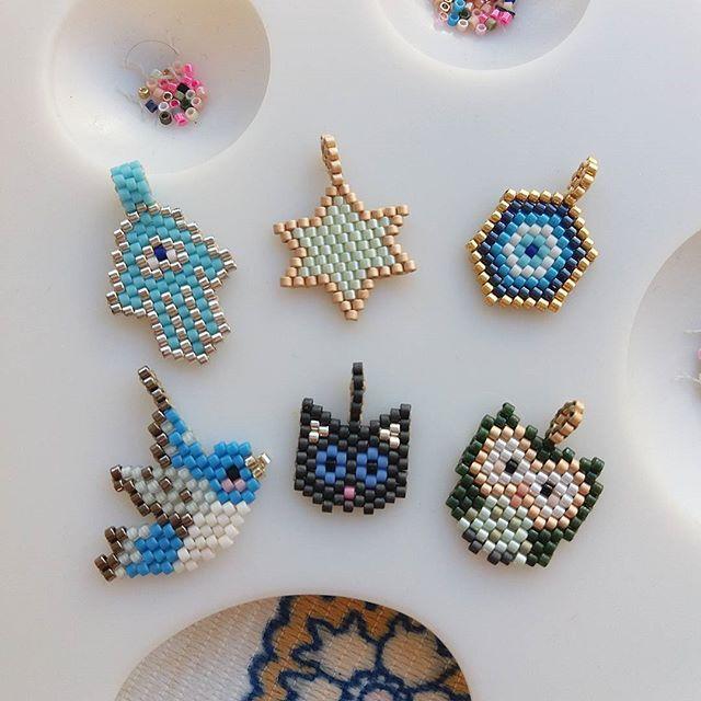 Kolye,bileklik,küpe ,halhal istediginiz her zincirinize ekleyebileceginiz minik miyuki uçlarımız 😚😊#twins #twinsart #miyuki #bird #kuş #cat #kedi#stars #yıldız #fatmaanaeli #hamsa#baykuş #owl #handmade #jewellery #likeforlike #specialgift #ankara #istanbul #especiallyforyou #thankyou