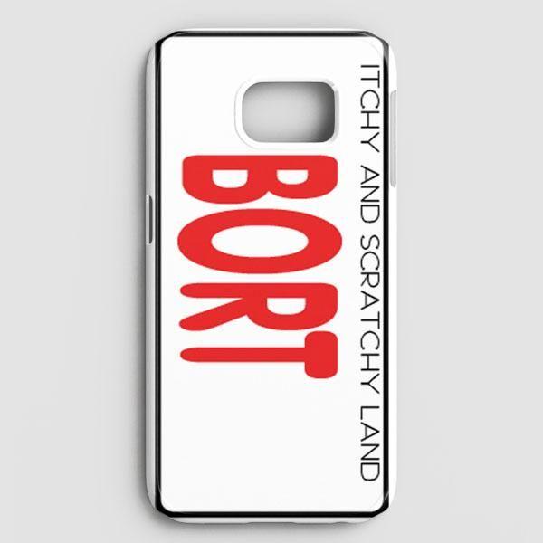 Bort License Plate Cover Samsung Galaxy S7 Edge Case