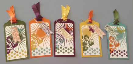 Stampin' Up! 2014-2016 In Colors - Kinda Eclectic stamp set