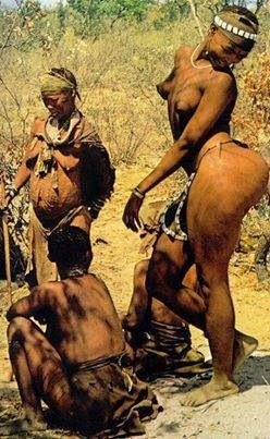 """Saartji Baartman from Southern Africa was cruelly exploited in Europe. She became known as the """"Hottentot Venus""""."""