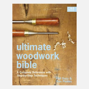 Ultimate Woodwork Bible Book.