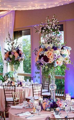 Make Your Budget Go Further By Repurposing Ceremony Fl At Wedding Reception Tangled Weddingwedding Disneyprincess