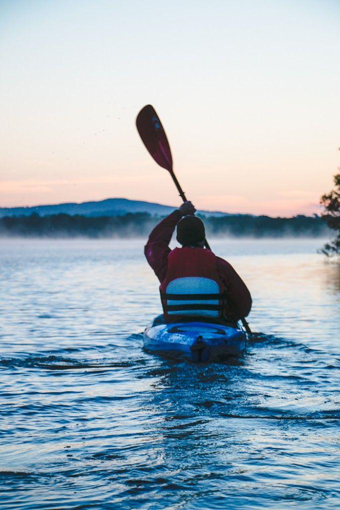 kayaking in Killarney, Ireland