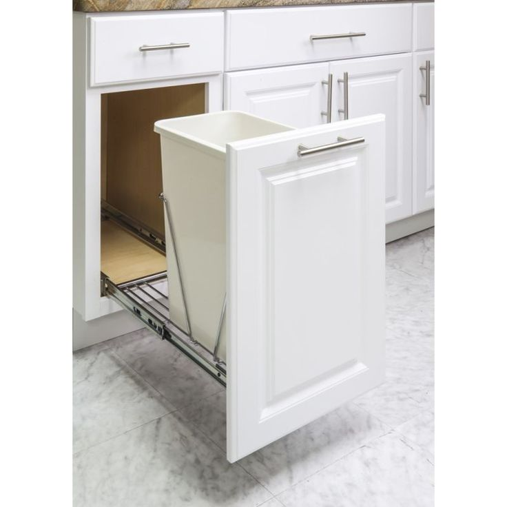 17 best ideas about trash can cabinet on pinterest hidden trash can kitchen diy wood and. Black Bedroom Furniture Sets. Home Design Ideas