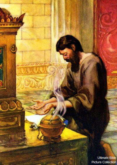 rey David ora a Dios