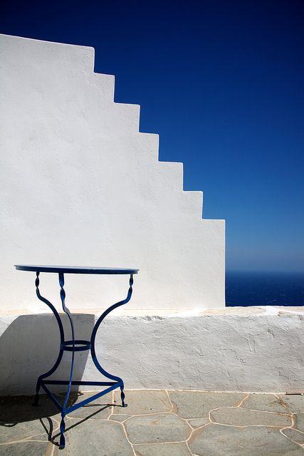 Risky Stairway in Artemonas on #Sifnos island #Greece #kitsakis