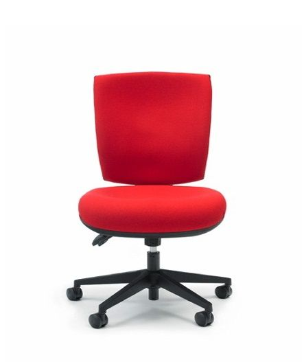 The Empact chair has an Square back with extra lumbar and lateral support, the memory foam gives you a unique hug and moulding sensation that creates an individual back fit for each user #seated #empact #office #seat seated.com.au