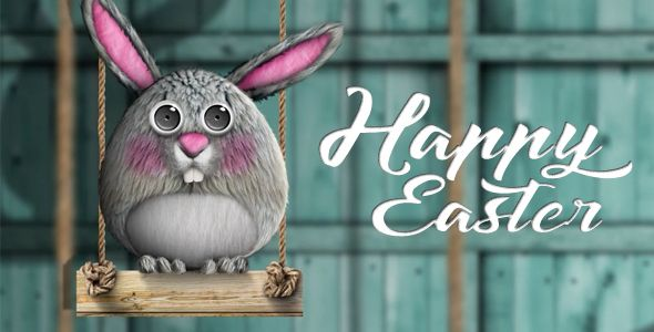 Happy Easter (Holiday) #Envato #Videohive #aftereffects