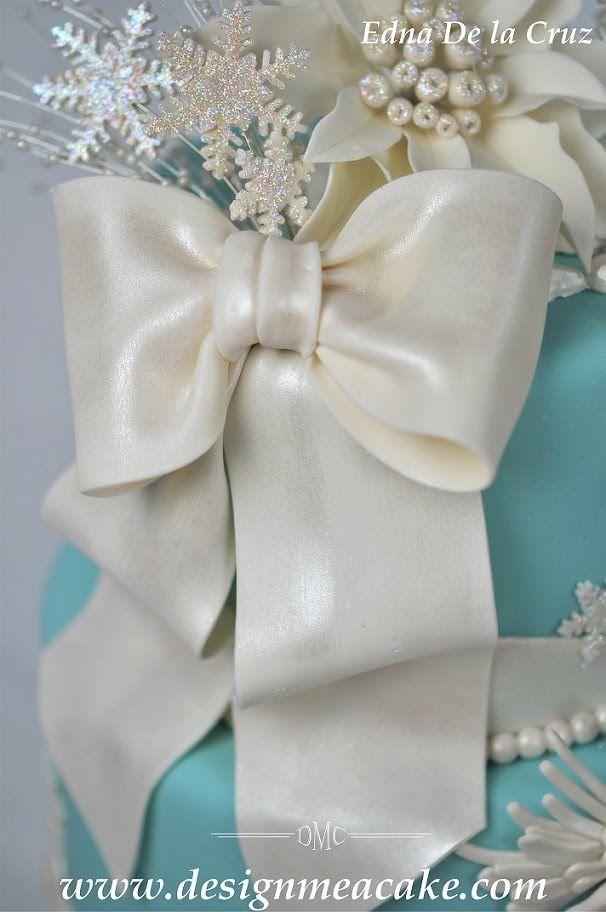 how to make ribbon fondant bows