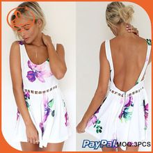 Summer rompers womens jumpsuit backless sexy bodycon white floral playsuit club bodysuits elegant sleeveless bandage overalls Best Seller follow this link http://shopingayo.space
