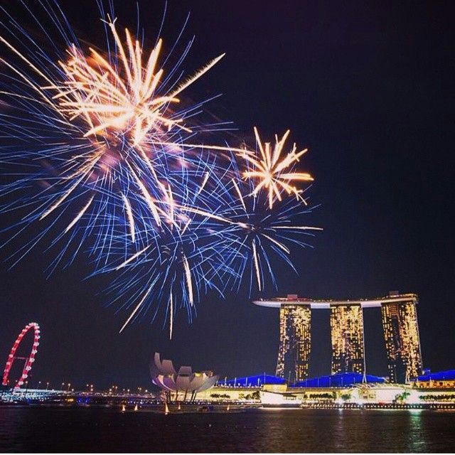 New Year of Marina Bay, Singapore
