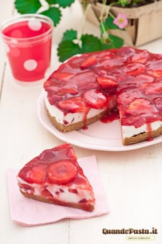 Cheesecake alle fragole!