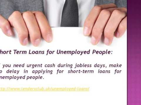 Apply for Unemployed Loans in the UK