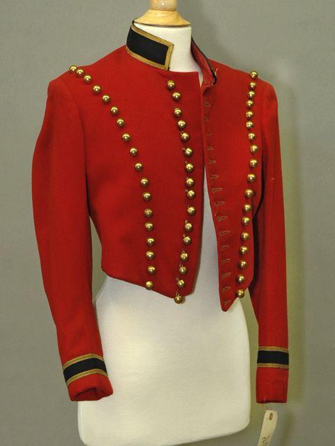 vintage british military uniform