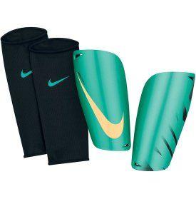 Nike Mercurial Lite Soccer Shin Guards - Teal/Yellow