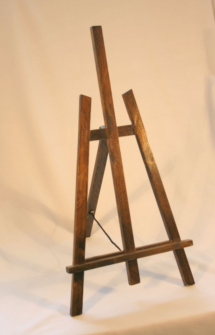display easel - various sizes by WoodInArt on Etsy https://www.etsy.com/listing/184632423/display-easel-various-sizes
