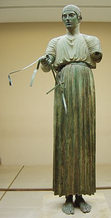 Auriga de Delfos - Wikipedia, la enciclopedia libre