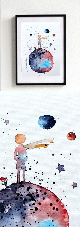 die 29 besten bilder zu principito auf pinterest | kinderzimmer ... - Kinderzimmer Der Kleine Prinz