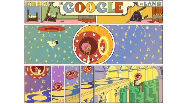 Winsor McCay için Google tarafından özel doodle hazırlandı. Winsor McCay kimdir