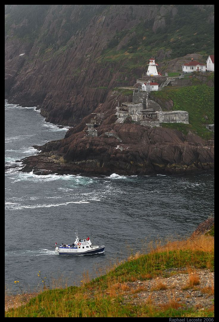 #Lighthouse in St. John's, Newfoundland South Side. http://www.raphael-lacoste.com/photo/newfoundland/pages/St-johns-lighthouse.ht