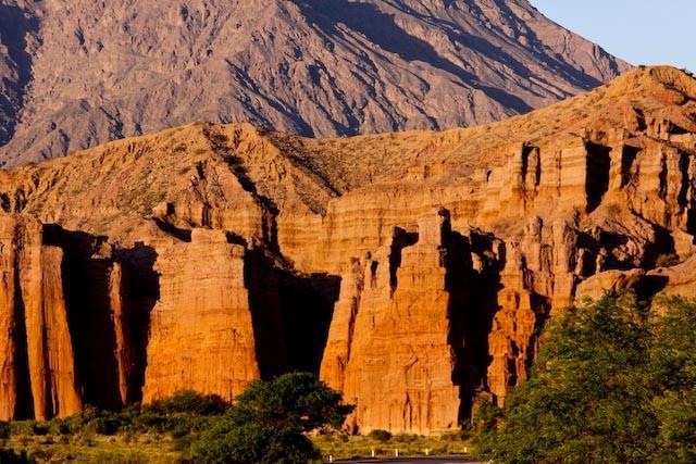 Los Castillos - The castles in Quebrada de las conchas Shell Gorge cafayate Salta Argentina - A great drive with us