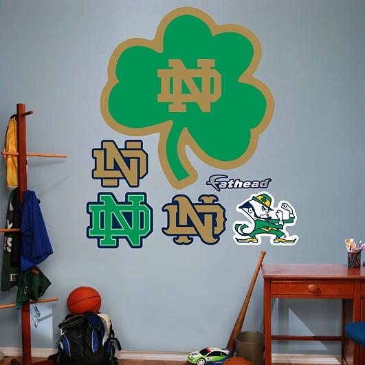 High Quality Notre Dame Fighting Irish   Green