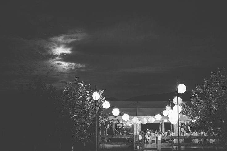 marquee structure, outdoor lighting, rice paper lanterns, festoon light string, outdoor dance floor, south coast weddings, marquee weddings, south coast party hire