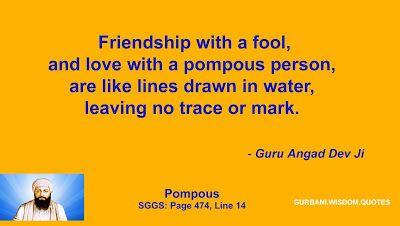 GURBANI.WISDOM.QUOTES (SGGS): Quote 129 - Guru Angad Dev Ji (Pompous)