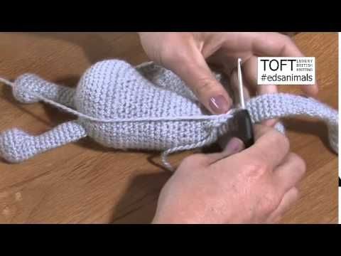 Chain Loop Crochet Tutorial | Edward's Menagerie Amigurumi Patterns | TOFT - YouTube