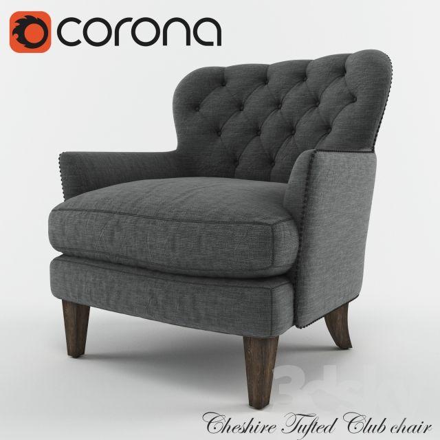 Cheshire Tufted Club chair
