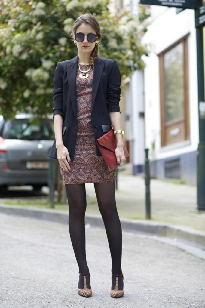 From Brussels, with love ♥: OOTD: Zara dress and Sacha shoes