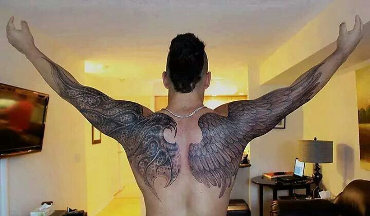 25 best ideas about angel back tattoo on pinterest