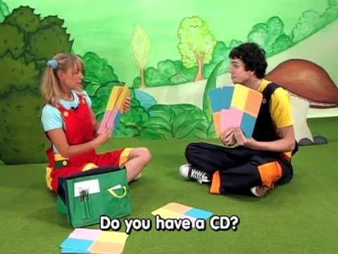 """#3 Kids English Learning Show - Classroom Objects:""""What do you have?"""" """"What does he/she have?"""""""