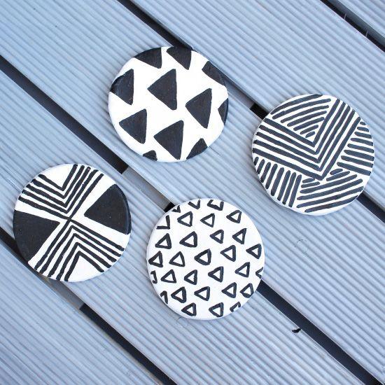 zelfdrogende klei - magneten