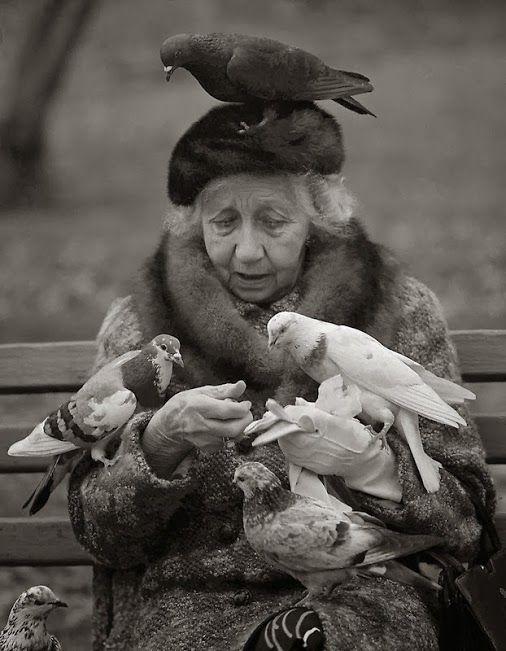 Suzy Grange Bird Lady of Central Park NYC