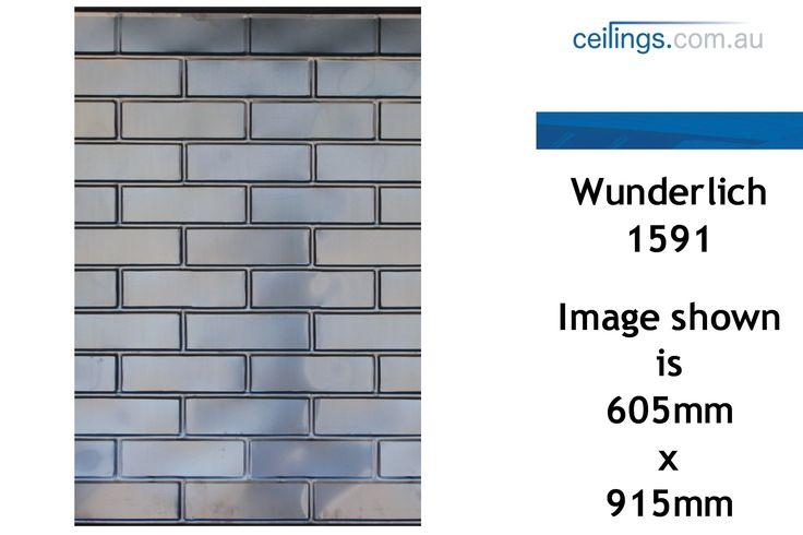 Wunderlich No 1591 - Brick | MMCOM Ceilings