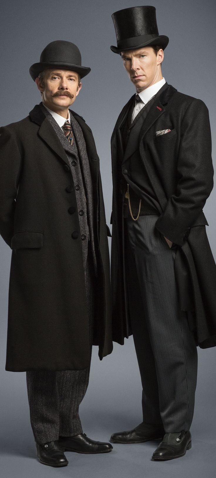 Martin Freeman & Benedict Cumberbatch #Watson #Sherlock