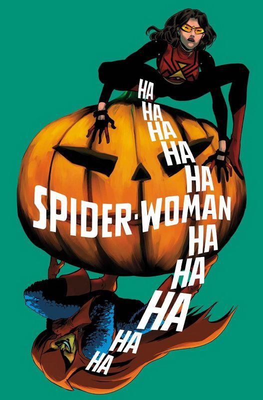 100% Marvel. Spiderwoman 5¡Último número! Jessica Drew ha luchado contra algunos de los criminales más duros mientras aprende a ser mamá. Pero ninguna noche en vela sofocando los llantos de su bebé la ha preparado para enfrentarse al Duende.