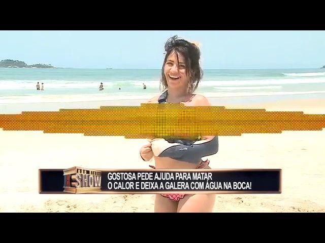 d980edfc4ae Gostosa Relaxa TPM com chocolate Pegadinha do João Kleber Show ...