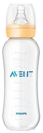 Standard с силиконовой соской 6 мес.+, 280 мл.  — 379р. -------- Бутылочка Philips AVENT Standard сделает кормление Вашего малыша значительно проще. Ребра жесткости упрощают захват соски. Благодаря эргономичной форме бутылочку удобно держать как маме, так и малышу, а антиколиковая система позволяет попадать воздуху во время кормления в бутылочку, а не в животик малыша. Бутылочка не протекает во время кормления, а колпачок плотно закрывает соску, обеспечивая надежное хранение и перемещение с…