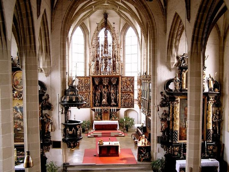 Kefermarkt, Upper Austria - Church with gothic altar